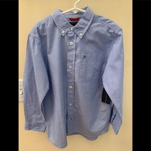 NWT, size 6, Tommy Hilfiger Button Down Shirt